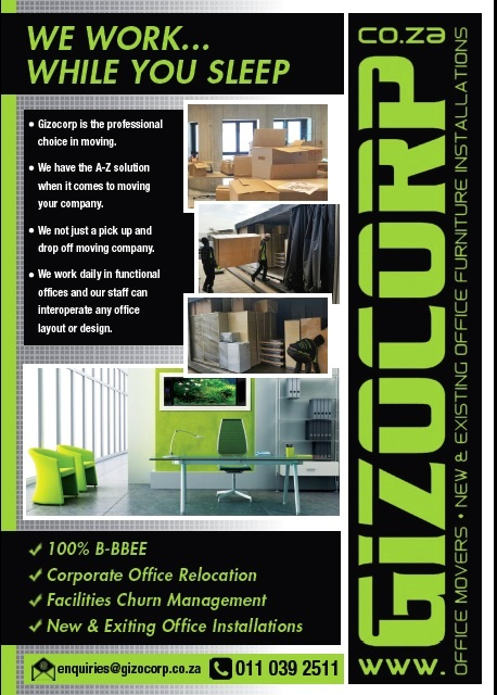 GIZOCORP ---> We everything OFFICE- Johannesburg